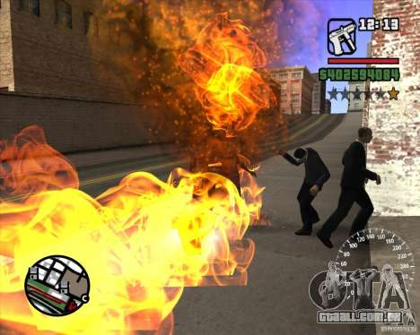 Ghost Rider para GTA San Andreas terceira tela