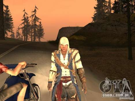 Connor From ACIII para GTA San Andreas