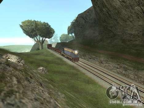 TÈM1M-1836 para GTA San Andreas vista traseira