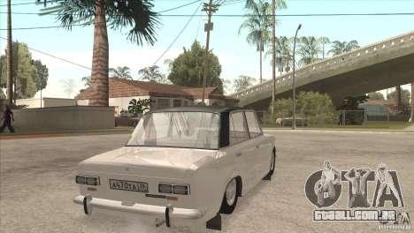 VAZ 2101 Dag para vista lateral GTA San Andreas