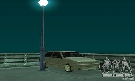 VAZ 2113 ADT Art Tuning para GTA San Andreas vista traseira