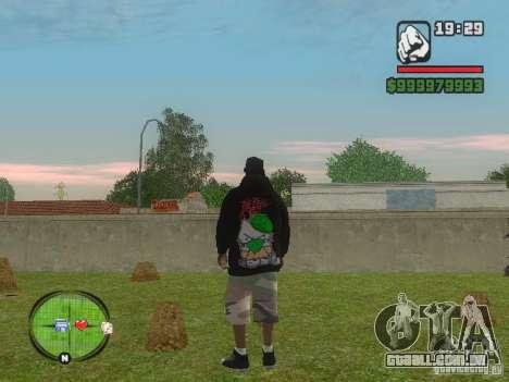 NEW Ryder para GTA San Andreas segunda tela