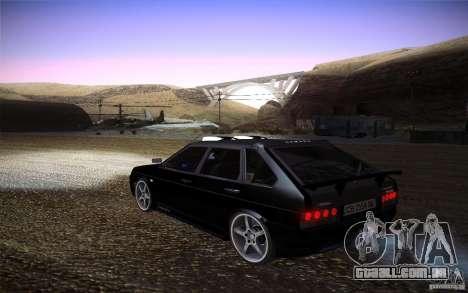 VAZ 2109 carbono para GTA San Andreas esquerda vista