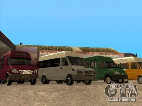 Iveco TurboDaily 35-10 para GTA San Andreas vista traseira