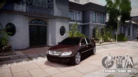 Volkswagen Phaeton W12 Long para GTA 4 vista direita