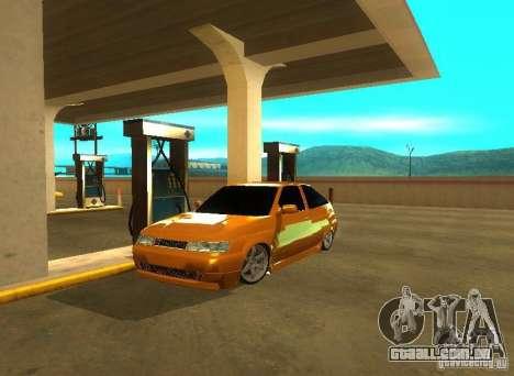 VAZ-2112 carro Tuning para GTA San Andreas traseira esquerda vista