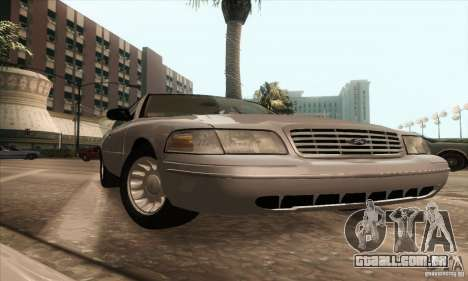 Ford Crown Victoria 2003 para GTA San Andreas vista direita