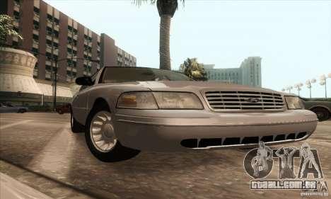 Ford Crown Victoria 2003 para GTA San Andreas vista direita