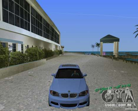 BMW 135i para GTA Vice City deixou vista