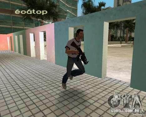 AK-47 com espingarda Underbarrel para GTA Vice City segunda tela