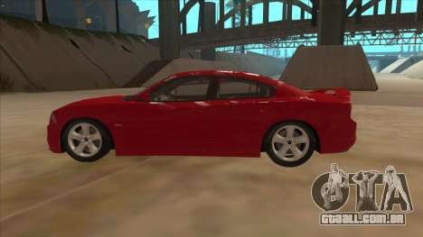 Dodge Charger RT 2011 V1.0 para GTA San Andreas esquerda vista