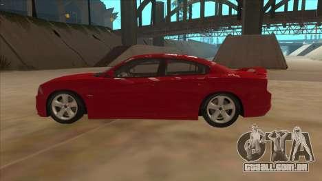 Dodge Charger RT 2011 V1.0 para GTA San Andreas esquerda vista