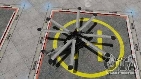 Helicóptero C.E.L.L. para GTA 4 vista direita