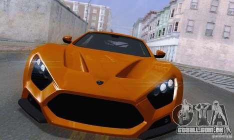 ENBSeries by dyu6 v6.0 para GTA San Andreas segunda tela