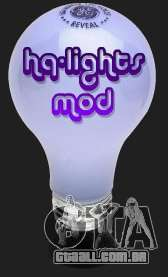 High Quality Lights Mod v2.0 - HQLM v 2.0 para GTA San Andreas