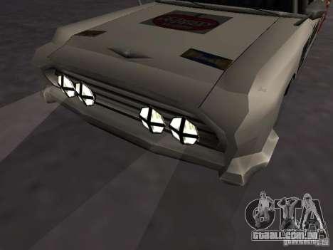 Bloodring Banger (A) de Gta Vice City para GTA San Andreas vista traseira