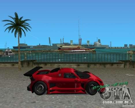 Gumpert Apollo Sport para GTA Vice City deixou vista