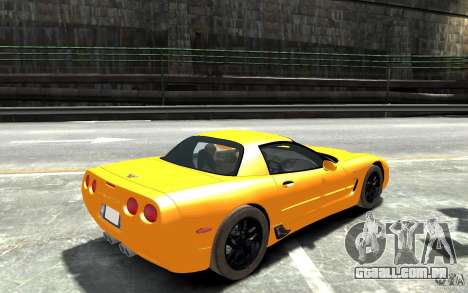Chevrolet Corvette C5 2005 para GTA 4 vista direita