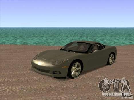 ENB de GTA IV para GTA San Andreas por diante tela