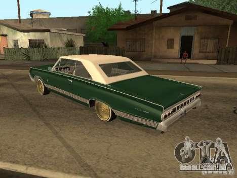 Mercury Park Lane Lowrider para GTA San Andreas esquerda vista