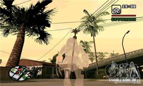 Effects of Predator v 1.0 para GTA San Andreas