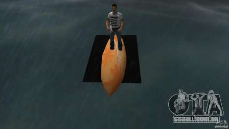 Surfboard 2 para GTA Vice City vista direita