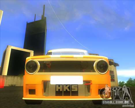2101 VAZ explosivo carro tuning para GTA San Andreas vista traseira
