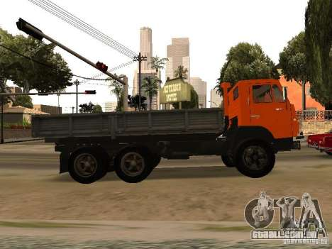 KAMAZ 5320 para GTA San Andreas esquerda vista