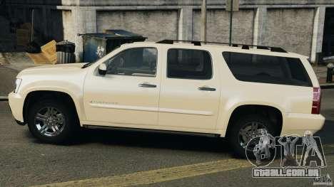 Chevrolet Suburban GMT900 2008 v1.0 para GTA 4 esquerda vista