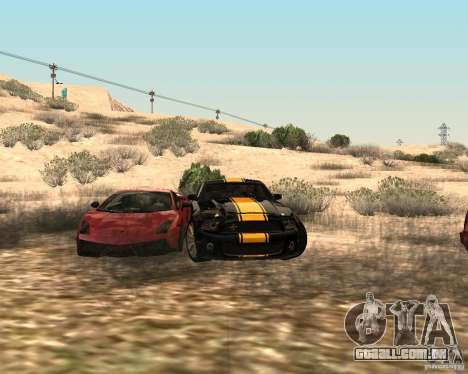 ENBSeries by Nikoo Bel para GTA San Andreas por diante tela