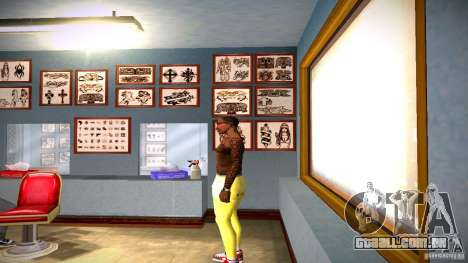 Três nova tatuagem para GTA San Andreas segunda tela