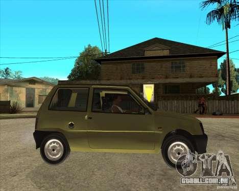 OKA 1111 Kamaz para GTA San Andreas vista direita