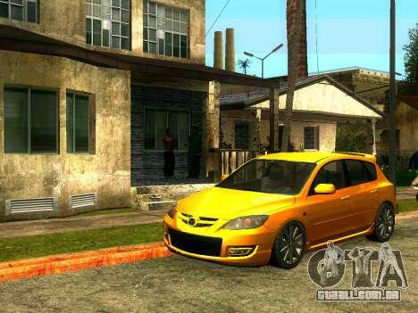 Amigos do CJ no Grove para GTA San Andreas segunda tela
