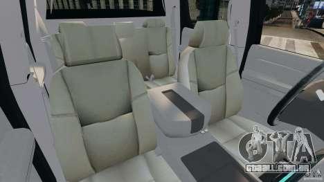 Chevrolet Avalanche 2007 [ELS] para GTA 4 vista interior