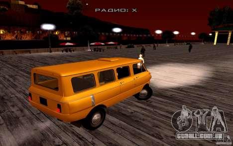 ZAZ 970 para GTA San Andreas esquerda vista