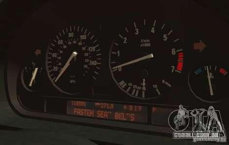 BMW 750i E38 1998 M-Packet para GTA 4 vista interior