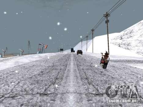 Neve para GTA San Andreas