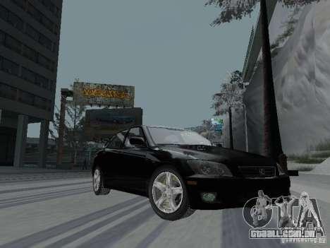 Lexus IS300 para GTA San Andreas vista interior