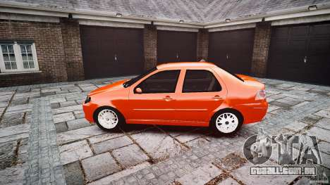 Fiat Albea Sole para GTA 4 esquerda vista