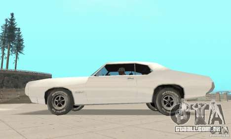 Pontiac GTO 1969 stock para GTA San Andreas