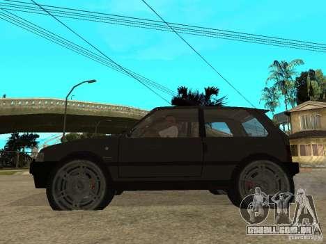 Kia Pride para GTA San Andreas esquerda vista