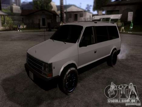 Plymouth Grand Voyager 1970 para GTA San Andreas