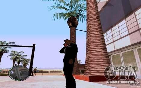 HTC Sensation para GTA San Andreas segunda tela
