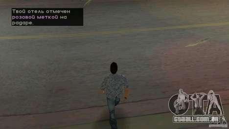 Caminhando para GTA Vice City segunda tela