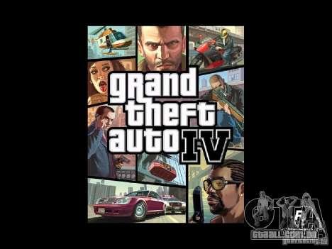 Tela de boot GTA 4 para GTA San Andreas segunda tela