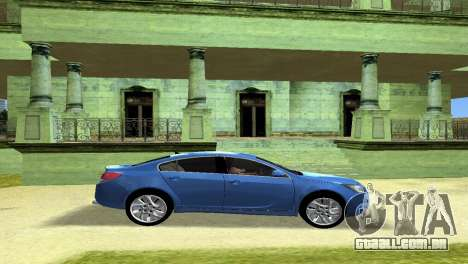 Buick Regal para GTA Vice City vista interior