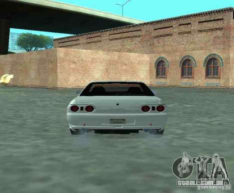 Nissan Skyline R32 GT-R para GTA San Andreas vista direita
