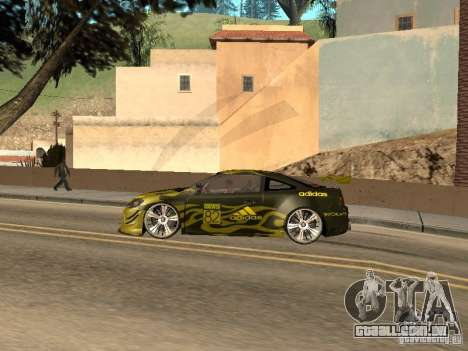 Chevrolet Cobalt SS Shift Tuning para GTA San Andreas esquerda vista