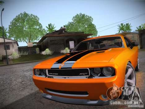Dodge Challenger SRT8 v1.0 para GTA San Andreas vista direita