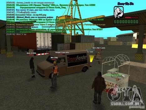 SA:MP 0.3d para GTA San Andreas sétima tela